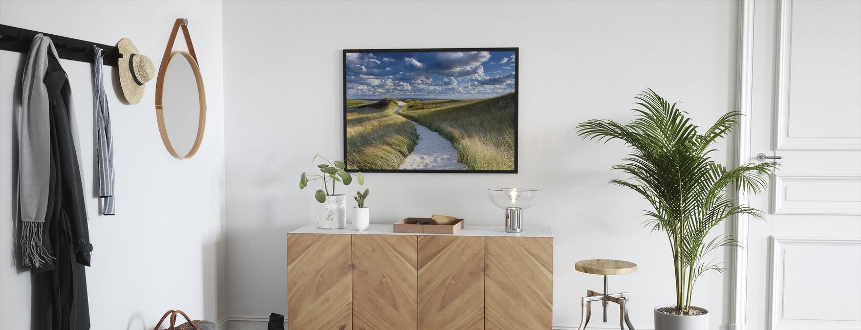 Philbin Beach - Framed print - Hallway