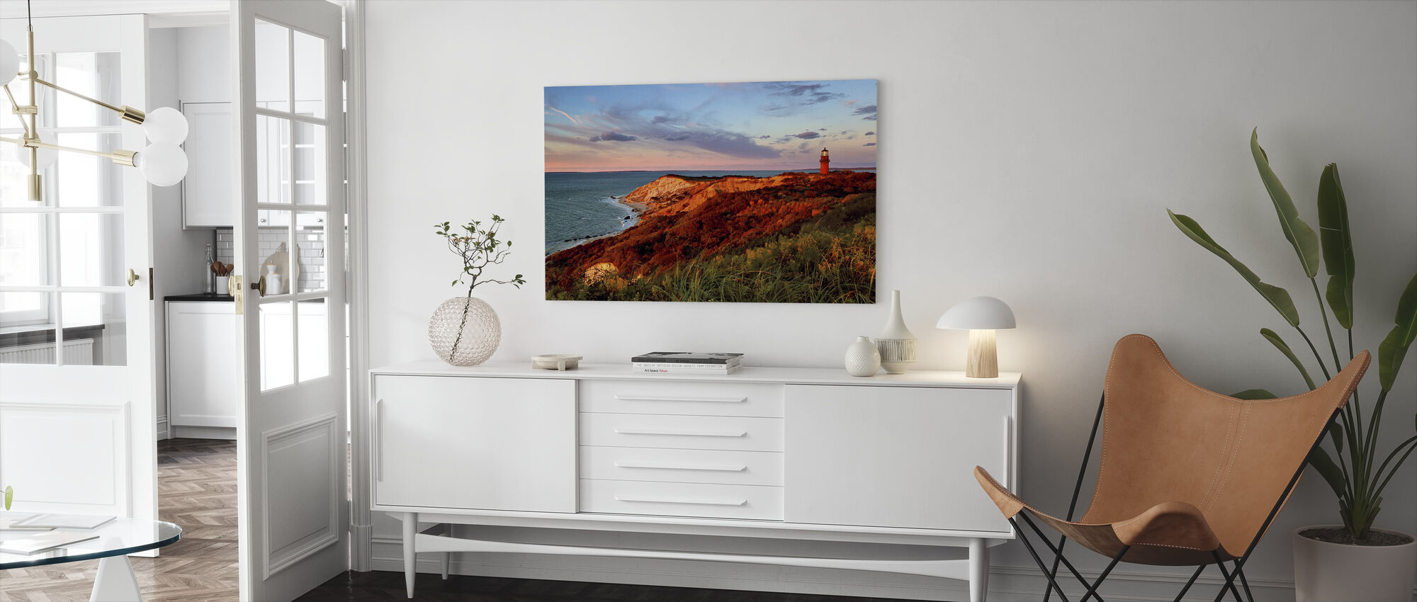 Gay Head Sunset - Canvas print - Living Room