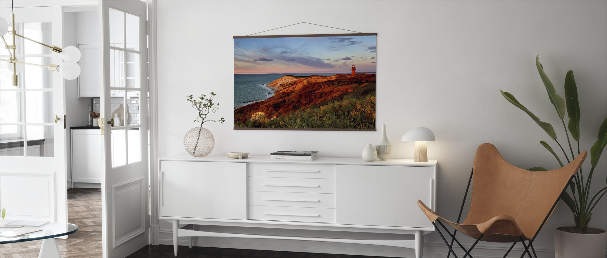 Gay Head Sunset - Poster - Living Room