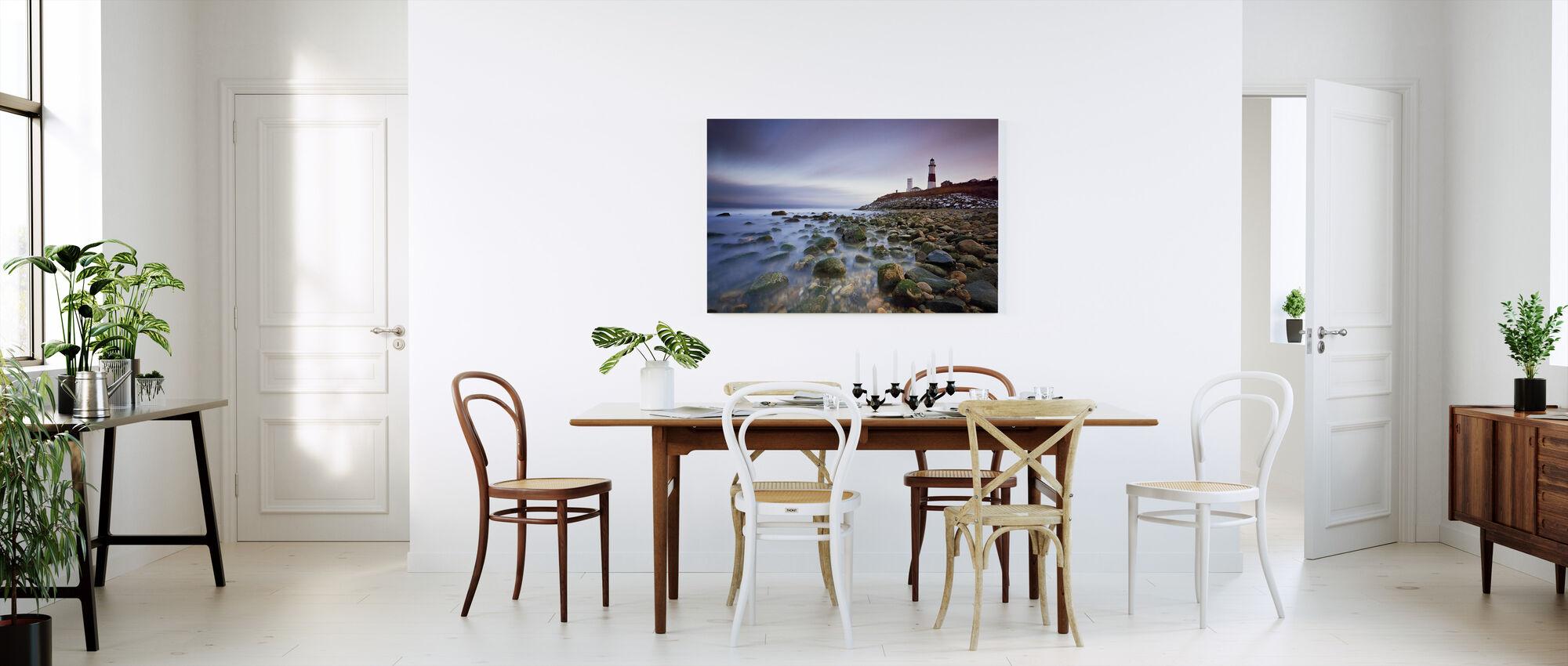 Montauk Point Sunset - Canvastaulu - Keittiö
