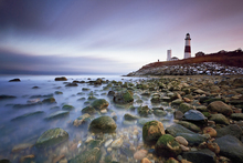 Fototapet - Montauk Point Sunset