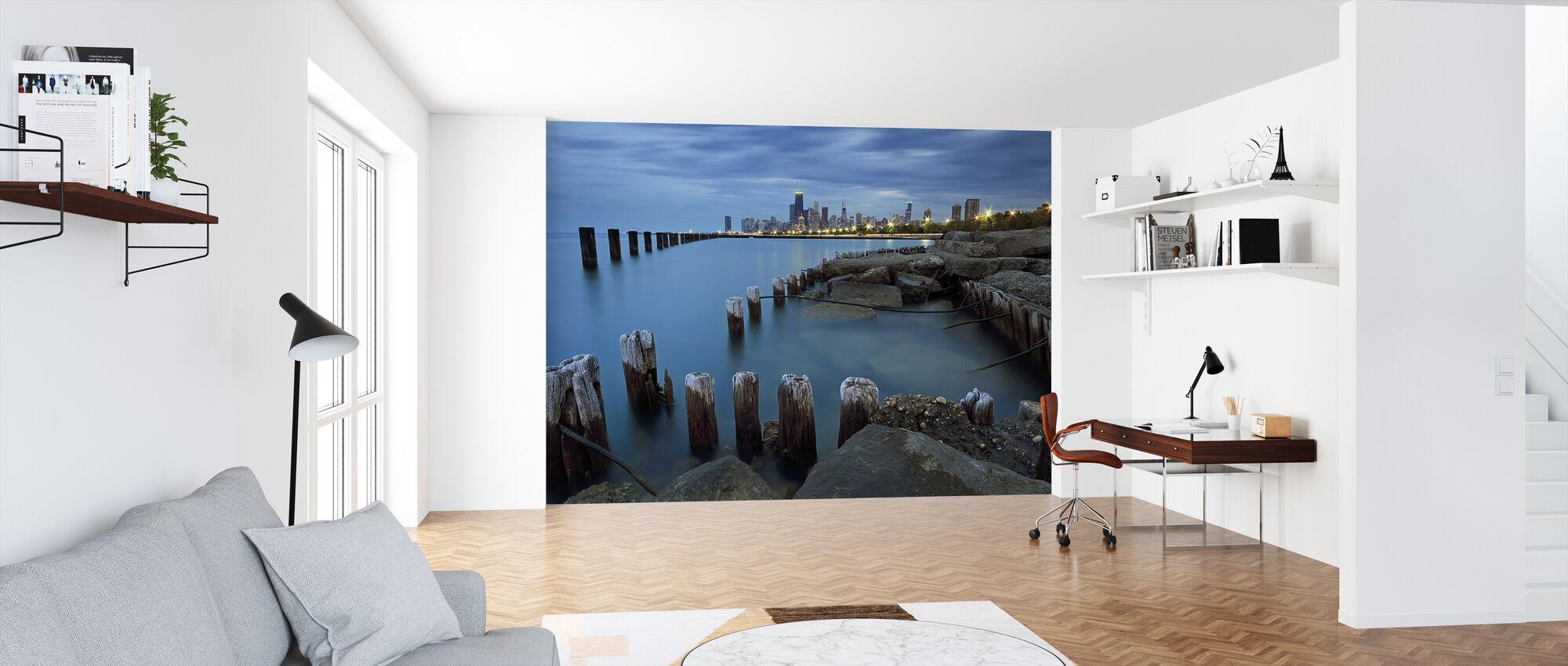 Pillars - Wallpaper - Office