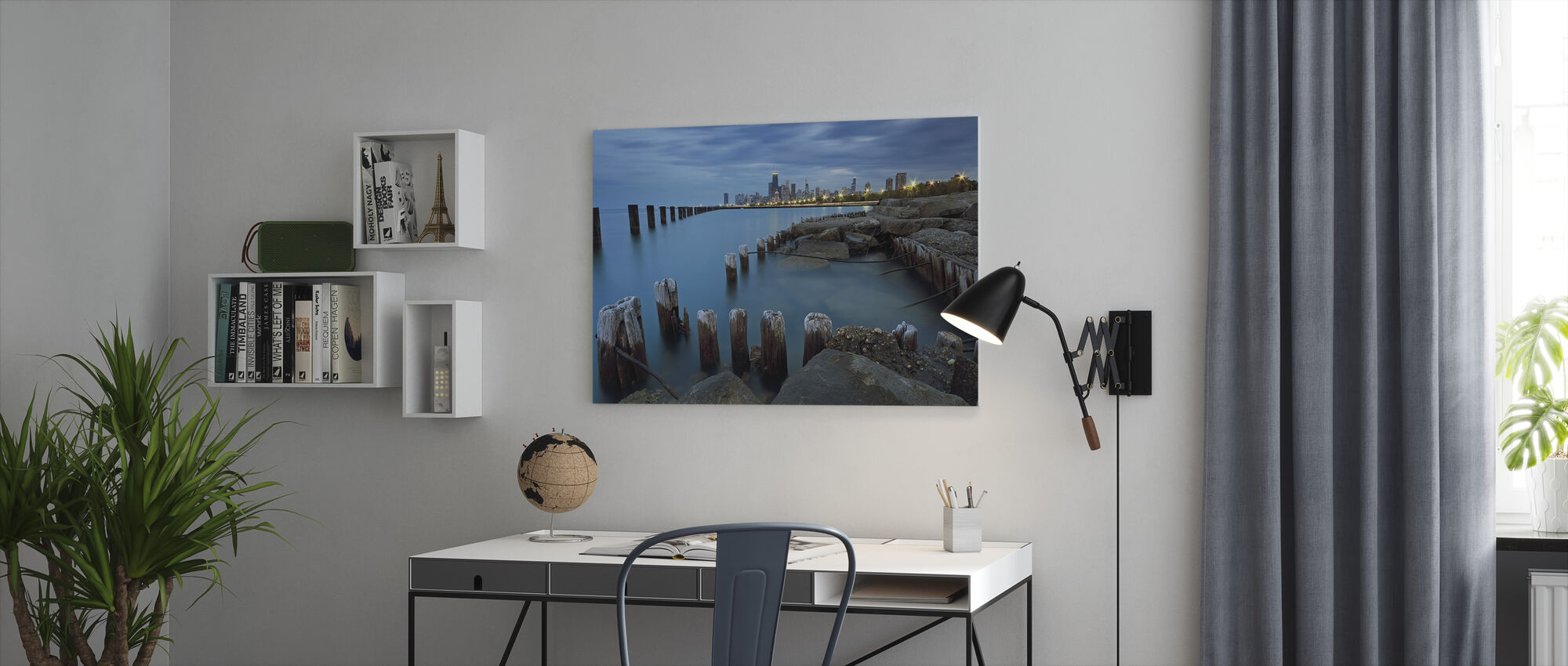 Pillars - Canvas print - Office