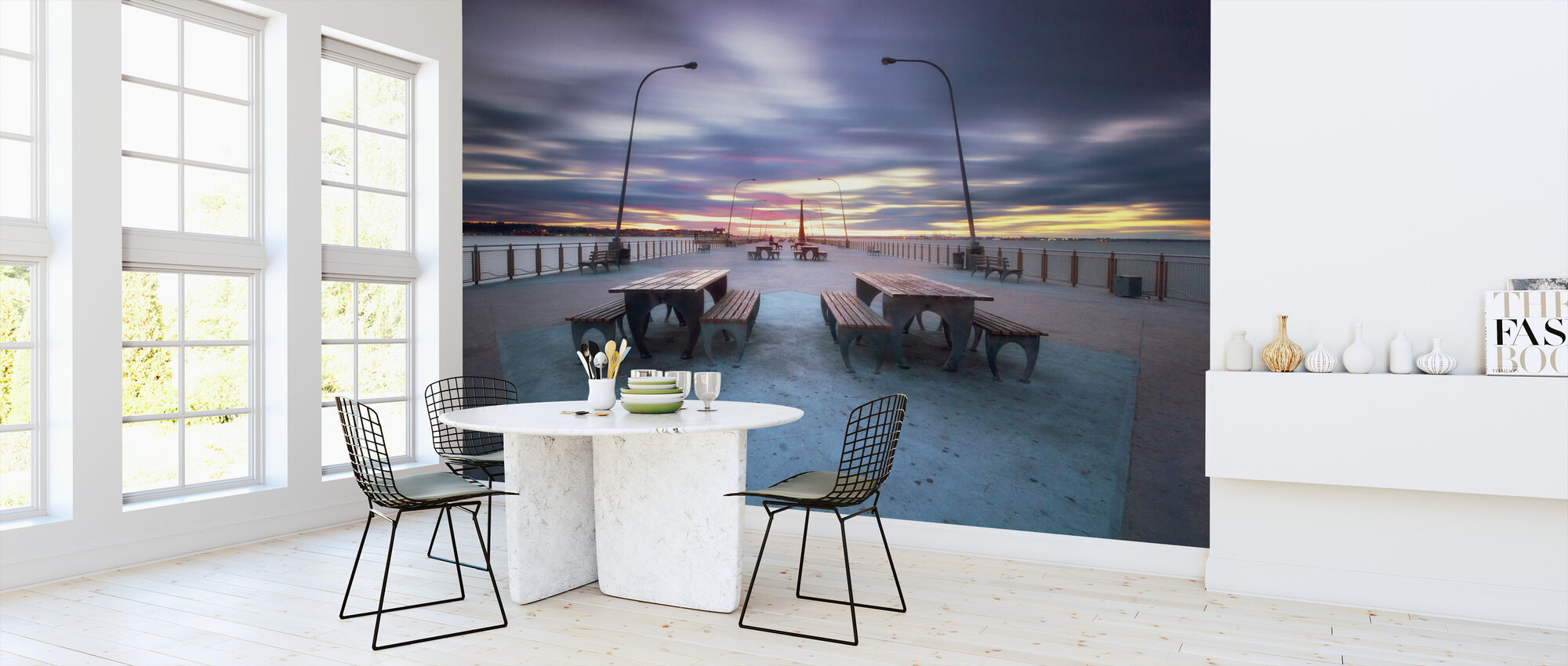 69th Street Pier - Wallpaper - Kitchen