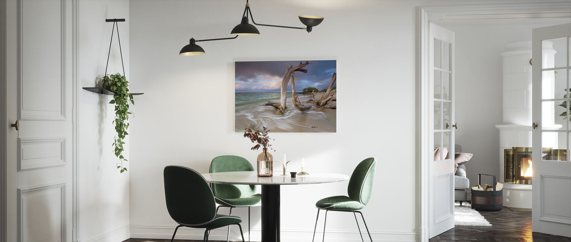 Driftwood Sunset - Canvas print - Kitchen