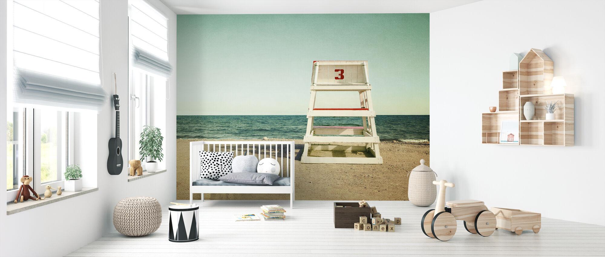 Lifeguard Station - Wallpaper - Nursery