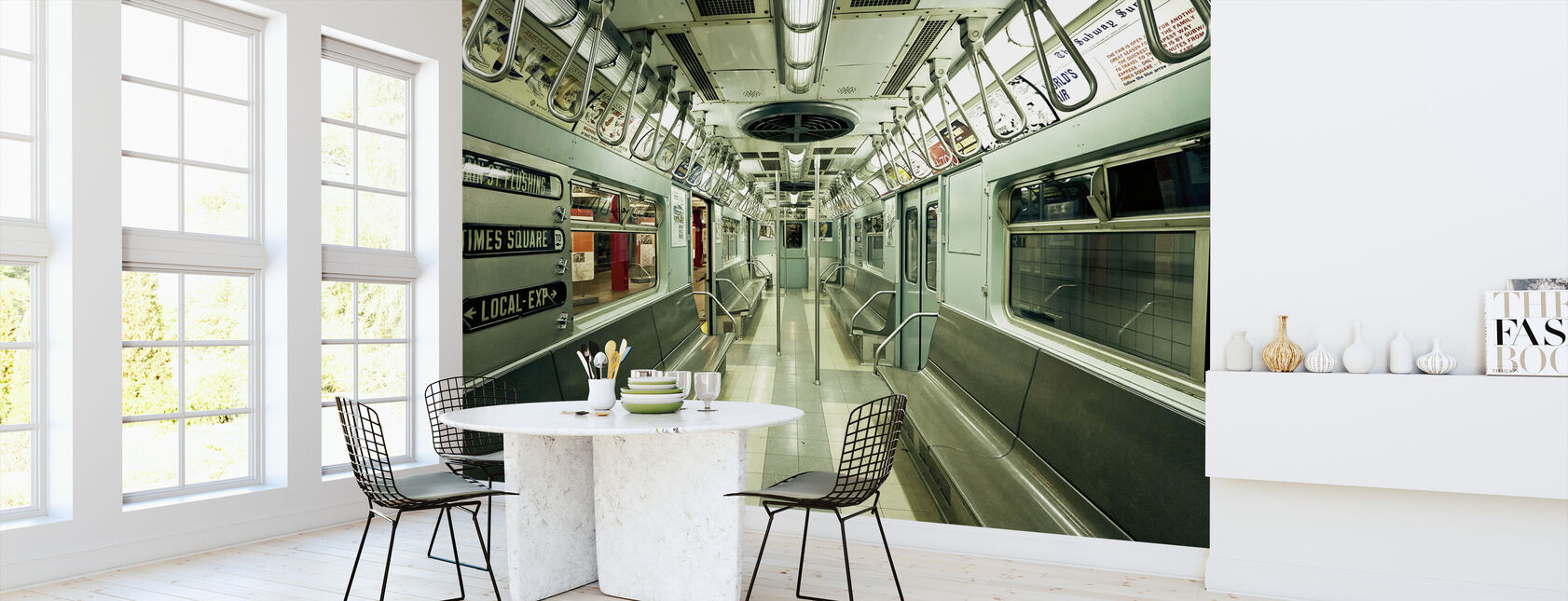 NYC-metro - Behang - Keuken