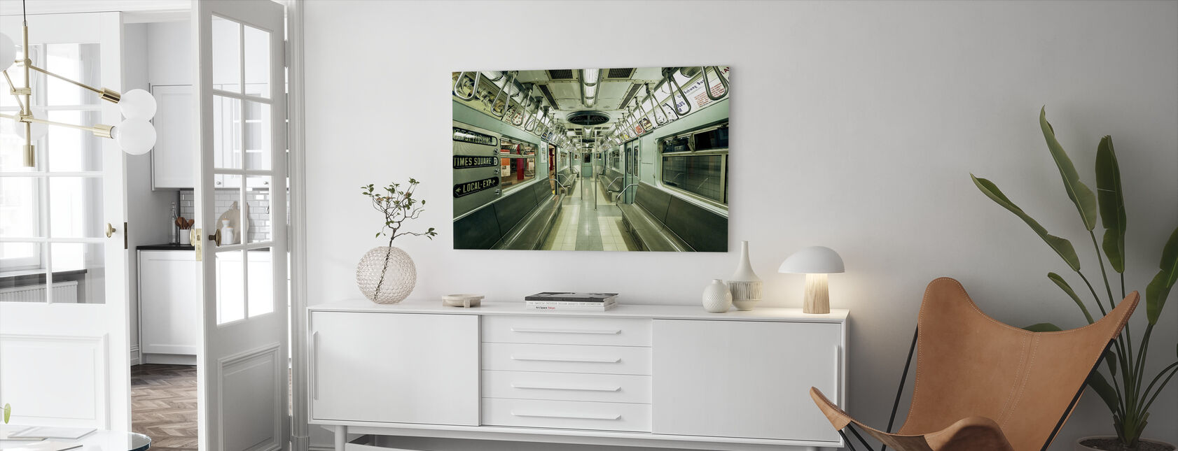NYC Subway - Canvas print - Living Room