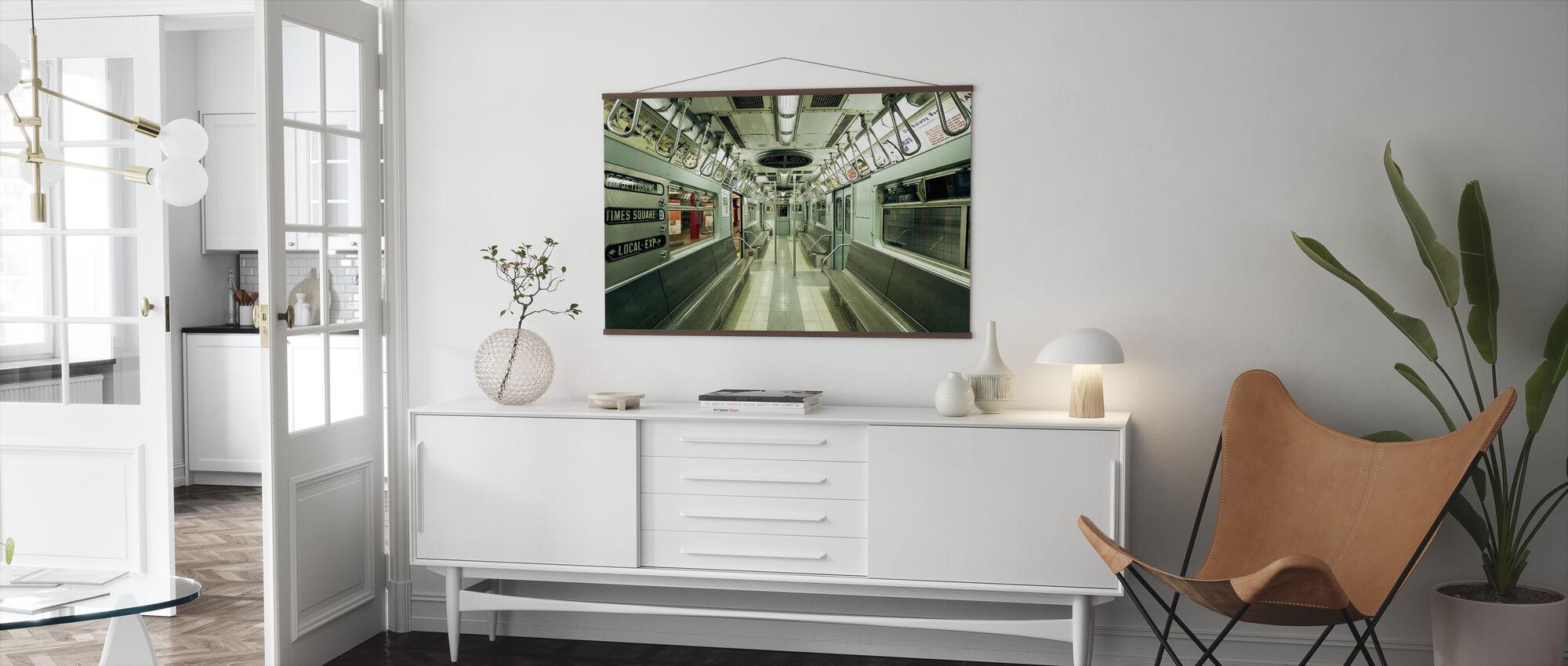NYC Subway - Poster - Living Room