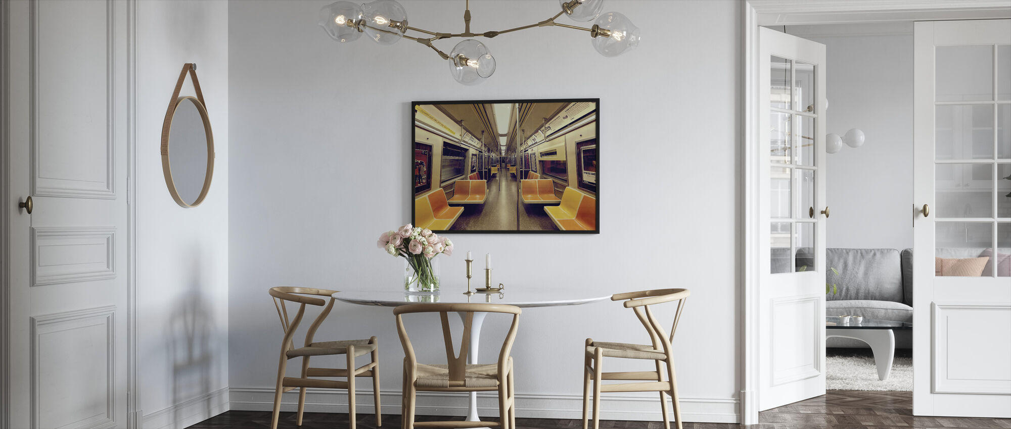 Soul Train - Framed print - Kitchen