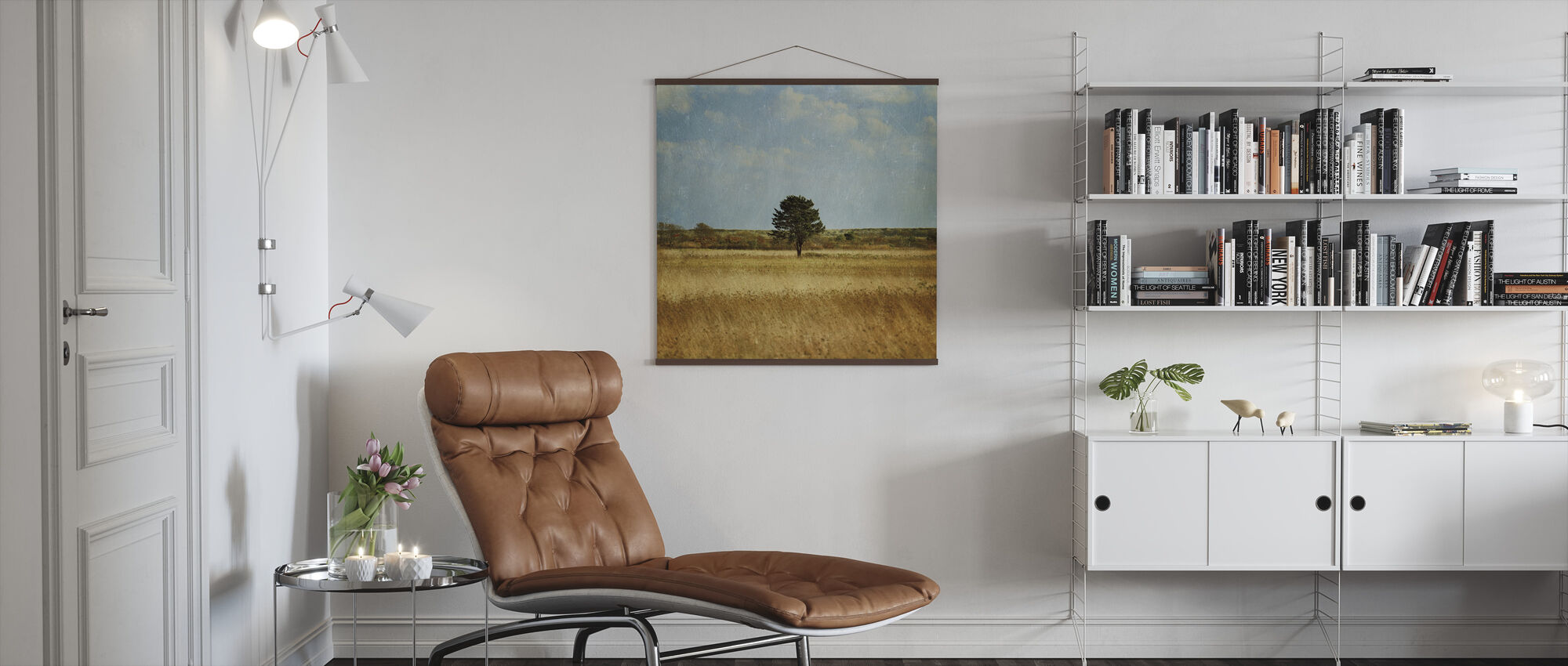 The Lonely Tree - Poster - Living Room