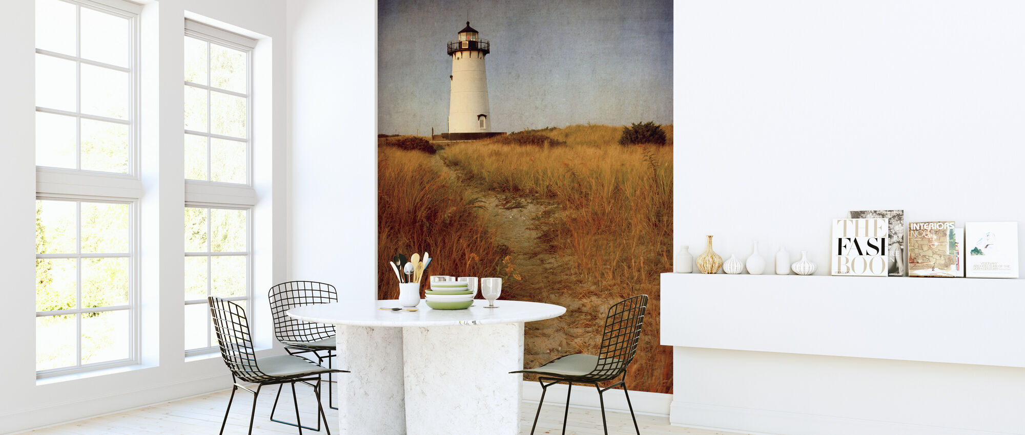 To the Harbor Light - Wallpaper - Kitchen