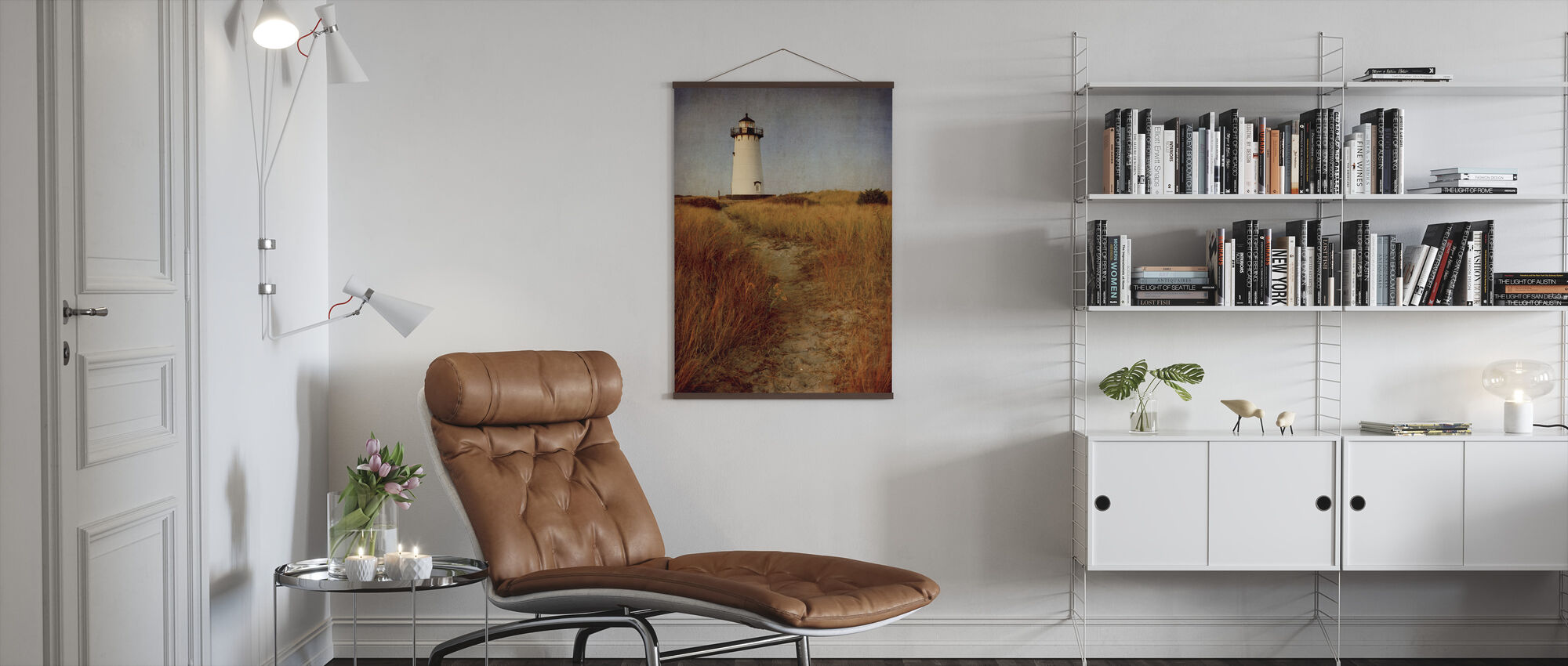 Naar het Harbor Light - Poster - Woonkamer