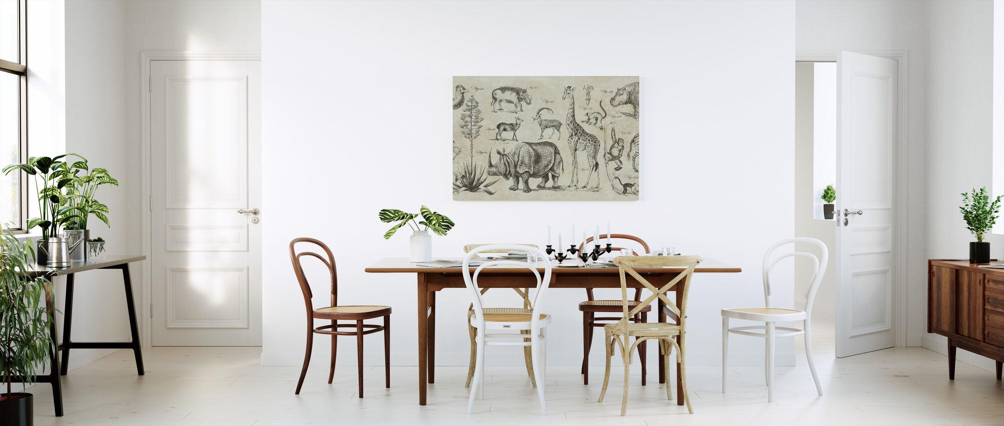 Wild Africa - Canvas print - Kitchen