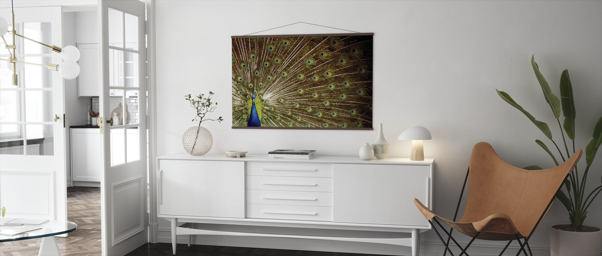 Proud as a Peacock - Poster - Living Room