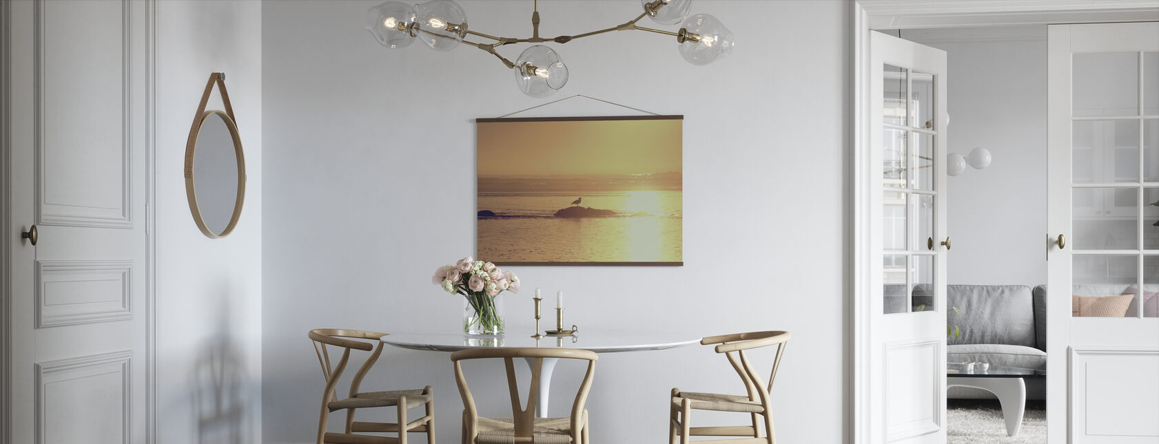 Kalaloch Sunset - Poster - Kitchen