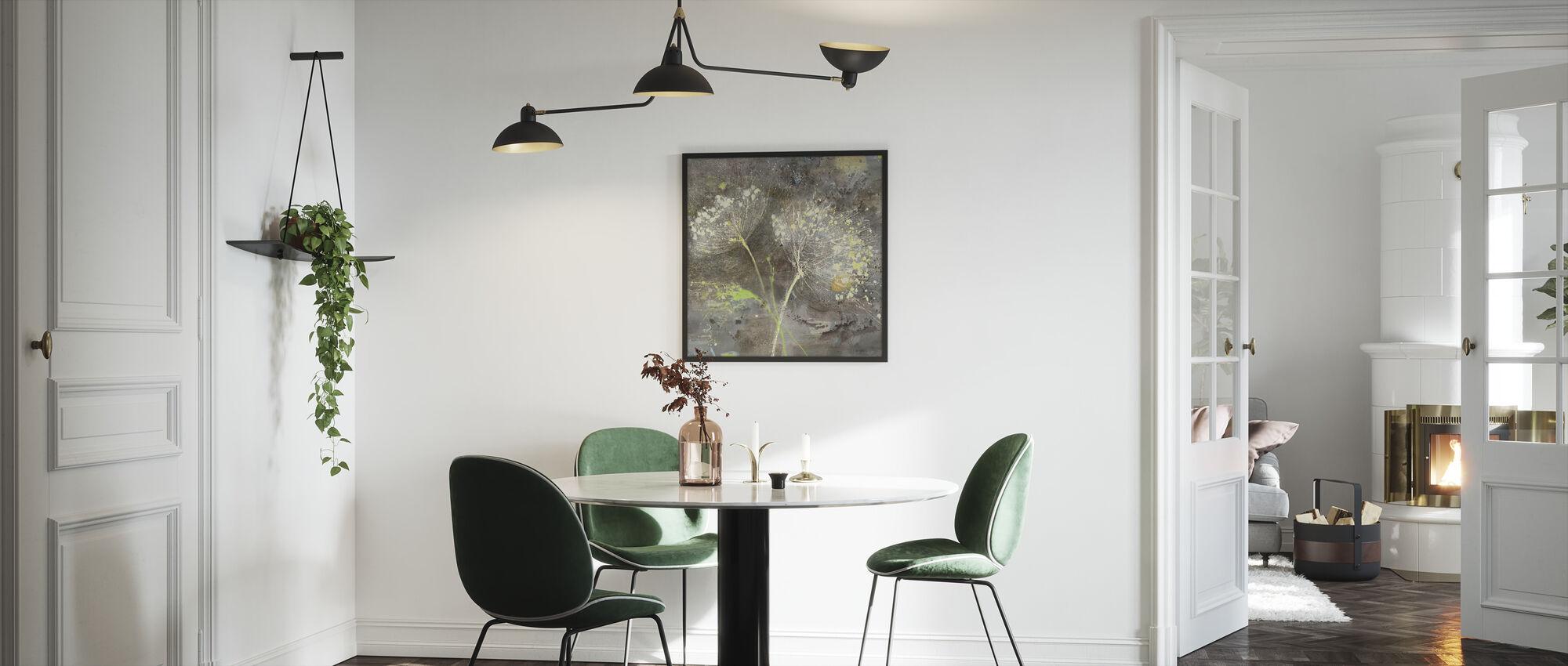 Sparklers 3 - Ingelijste print - Keuken
