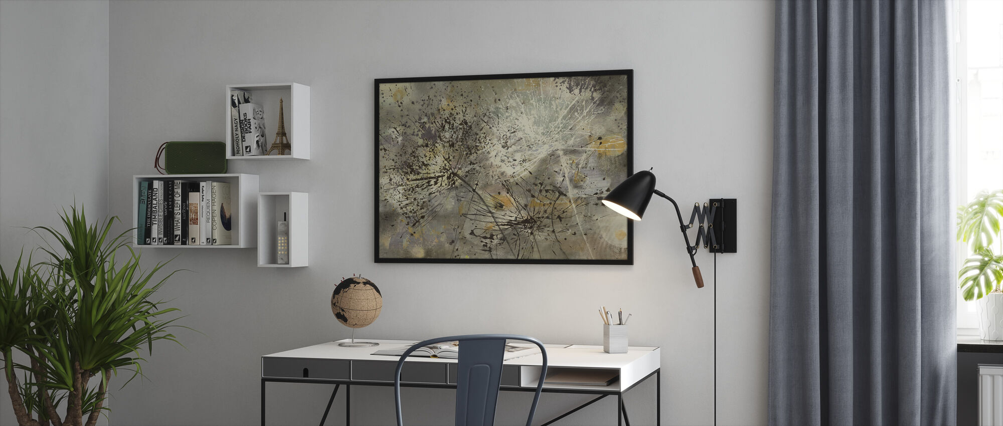 Sparklers 2 - Framed print - Office