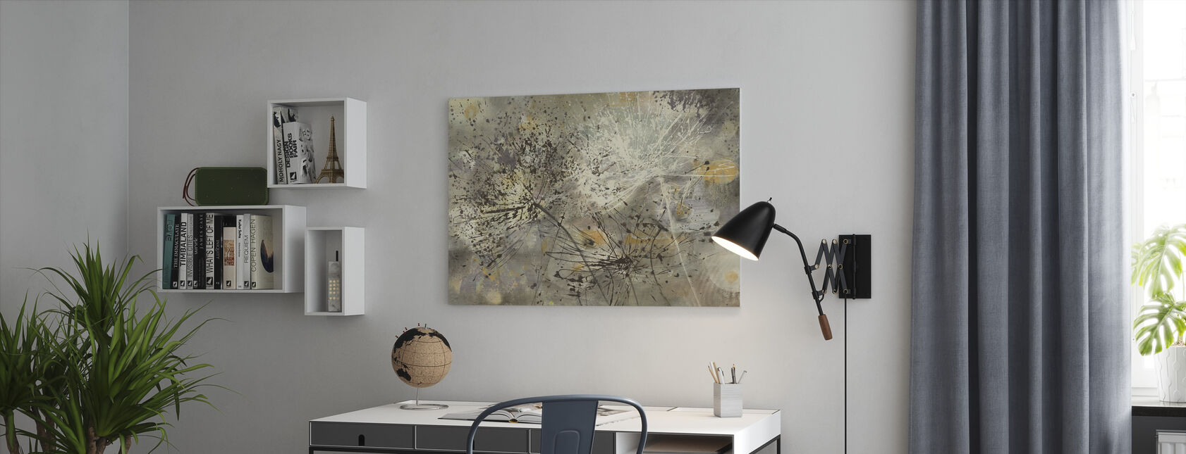 Sparklers 2 - Canvas print - Kantoor
