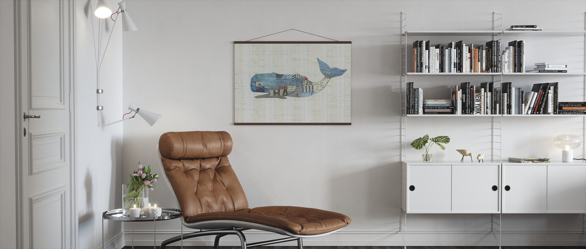 In the Ocean Fish - Poster - Living Room