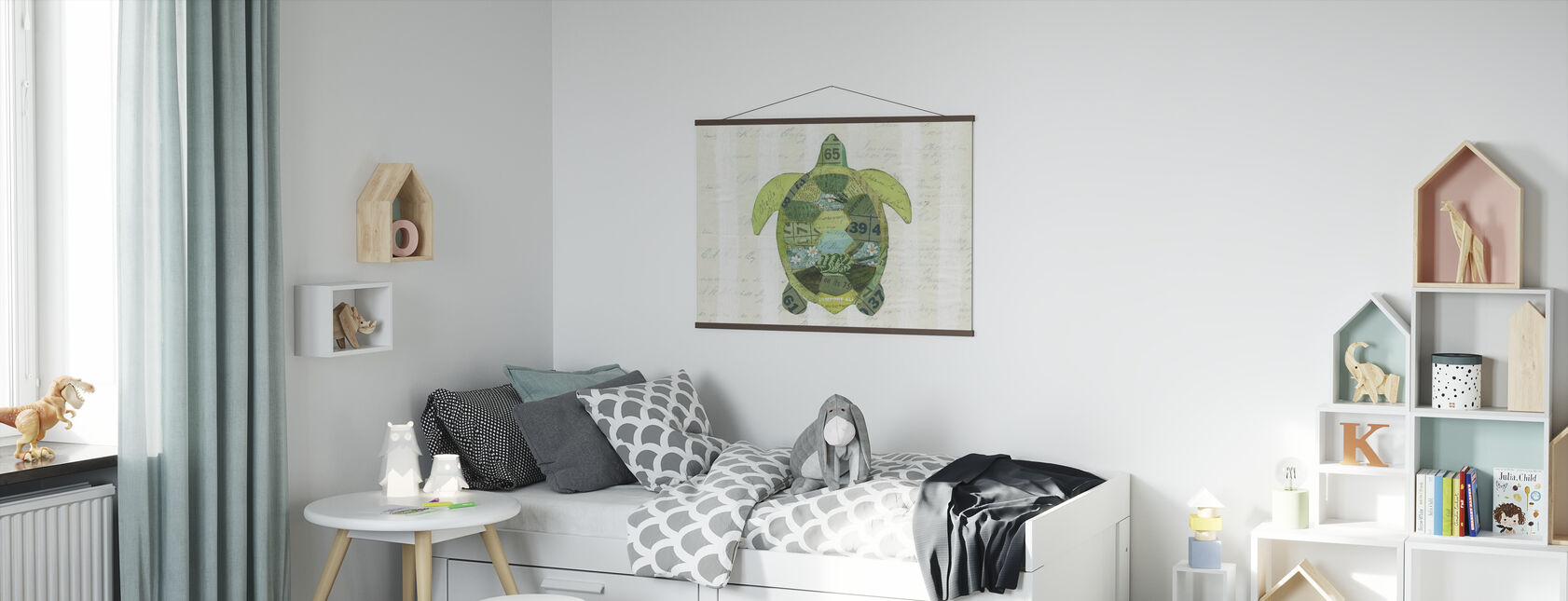 In the Ocean Turtle - Poster - Kids Room