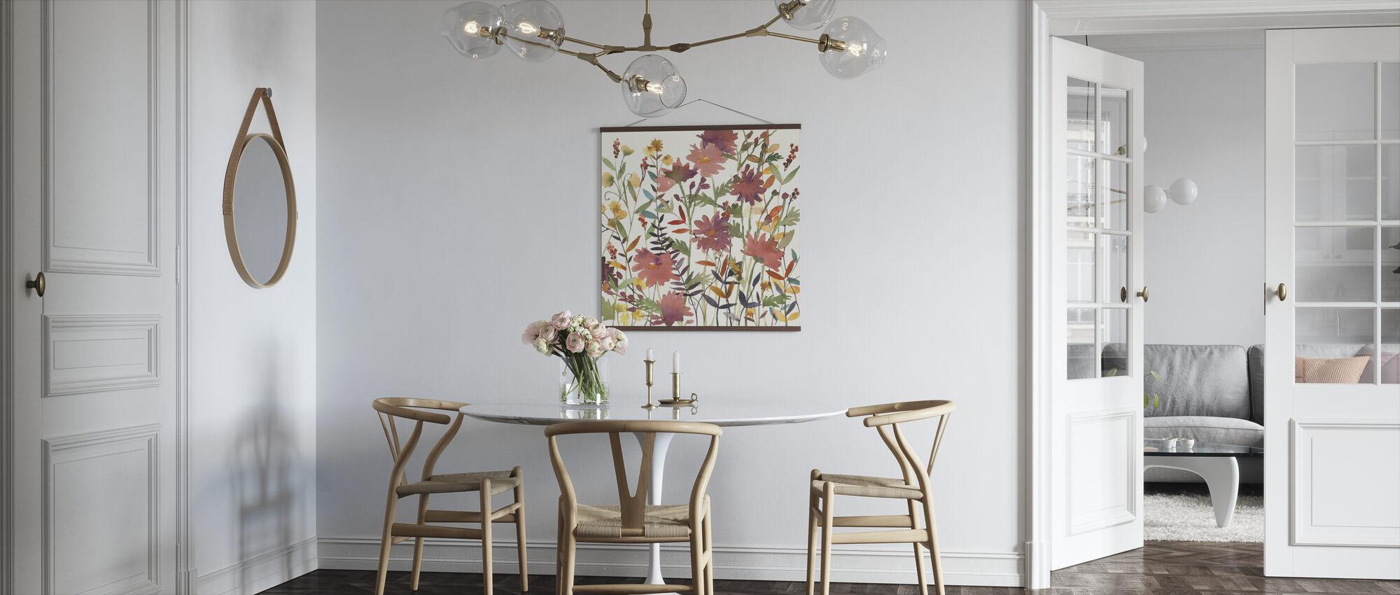 Autumn Flowers - Poster - Kitchen