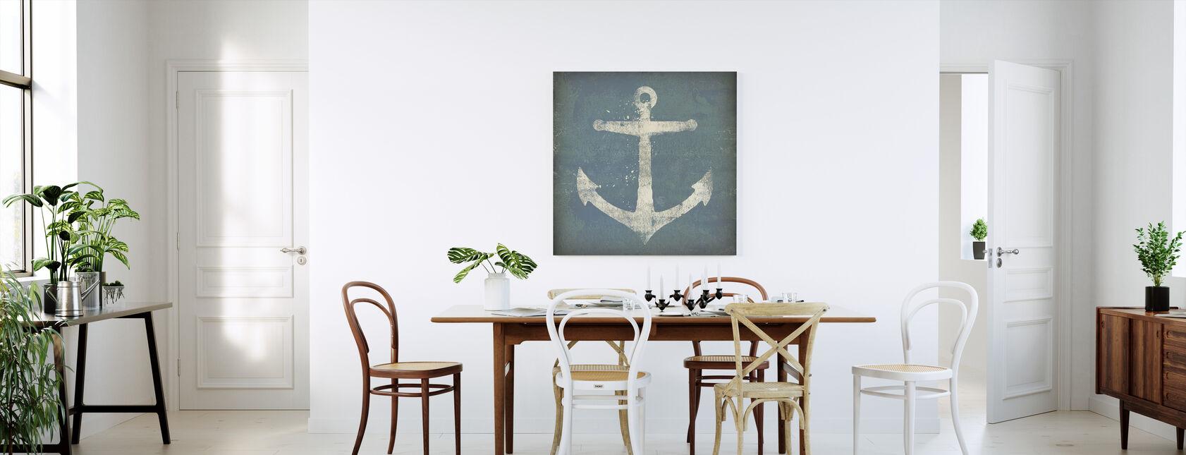 Anker Vierkant - Canvas print - Keuken