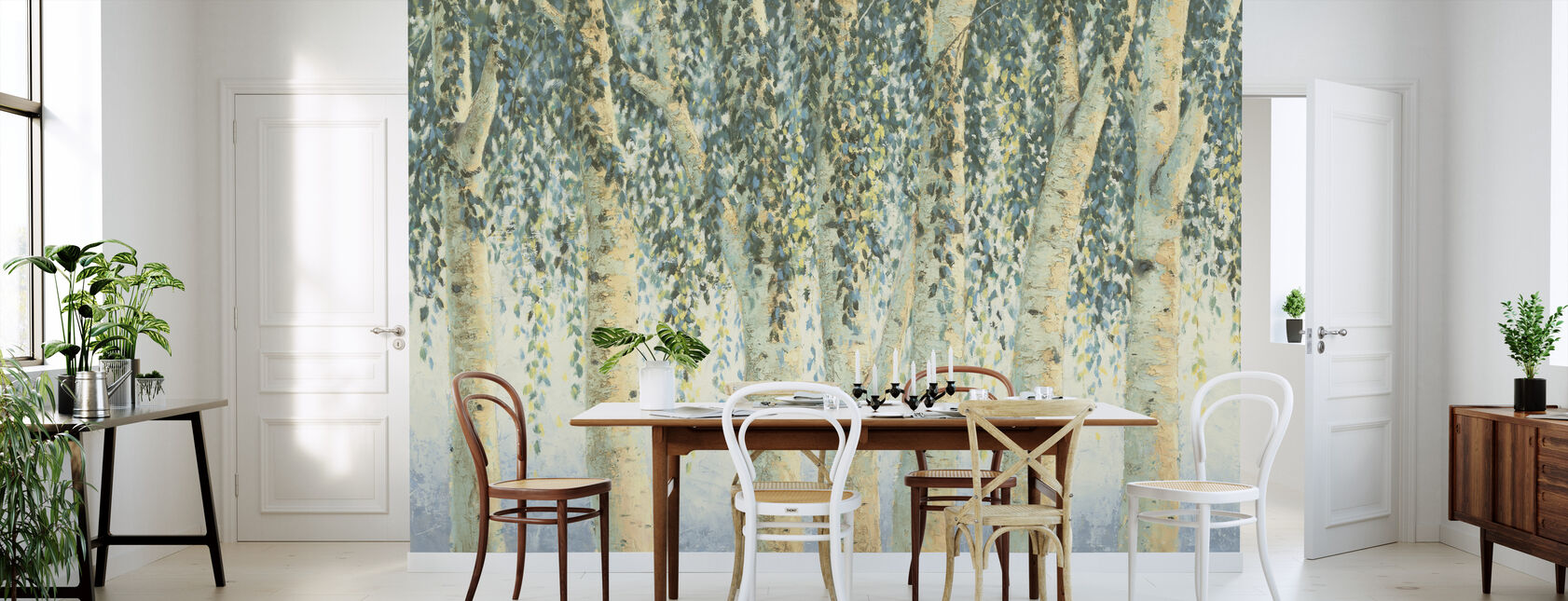 Sweeping Branches - Wallpaper - Kitchen