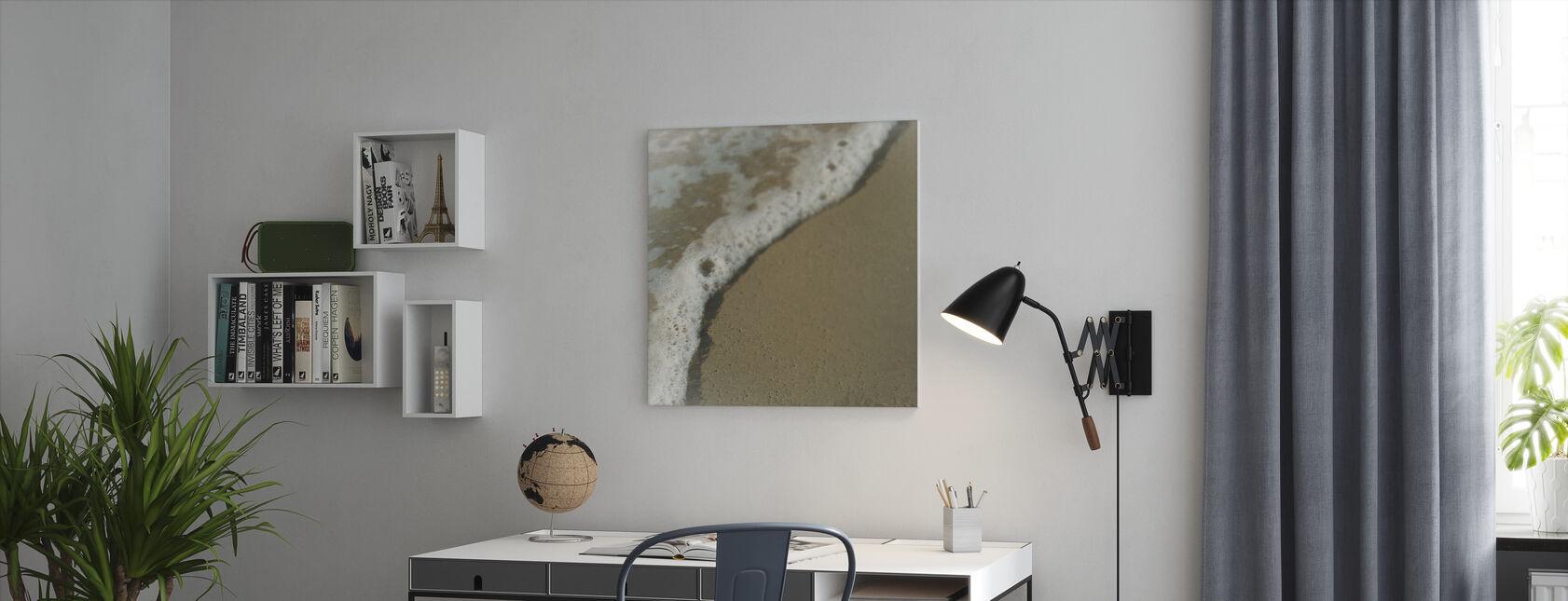 Bubbly Ocean - Canvas print - Office