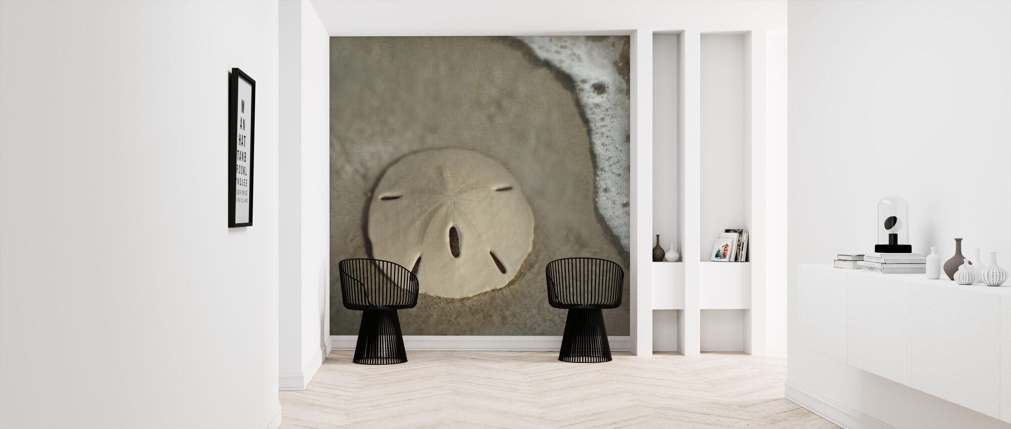 Sand Dollar Surf - Wallpaper - Hallway