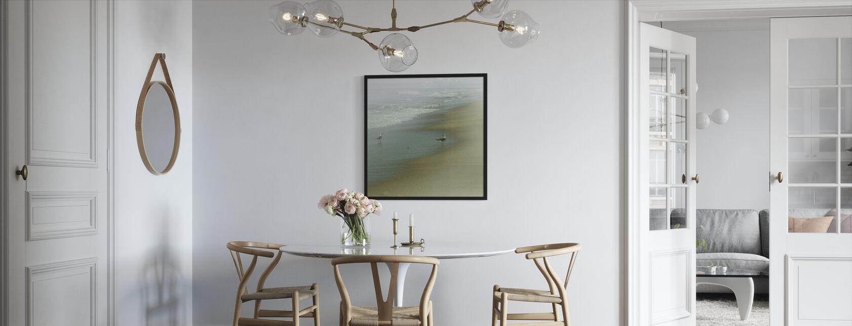 Merilintuja - Kehystetty kuva - Keittiö