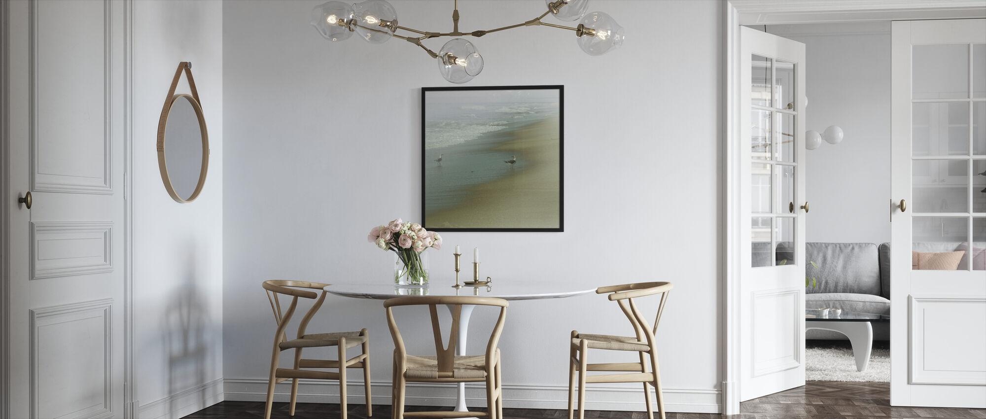 Sjøfugl - Innrammet bilde - Kjøkken