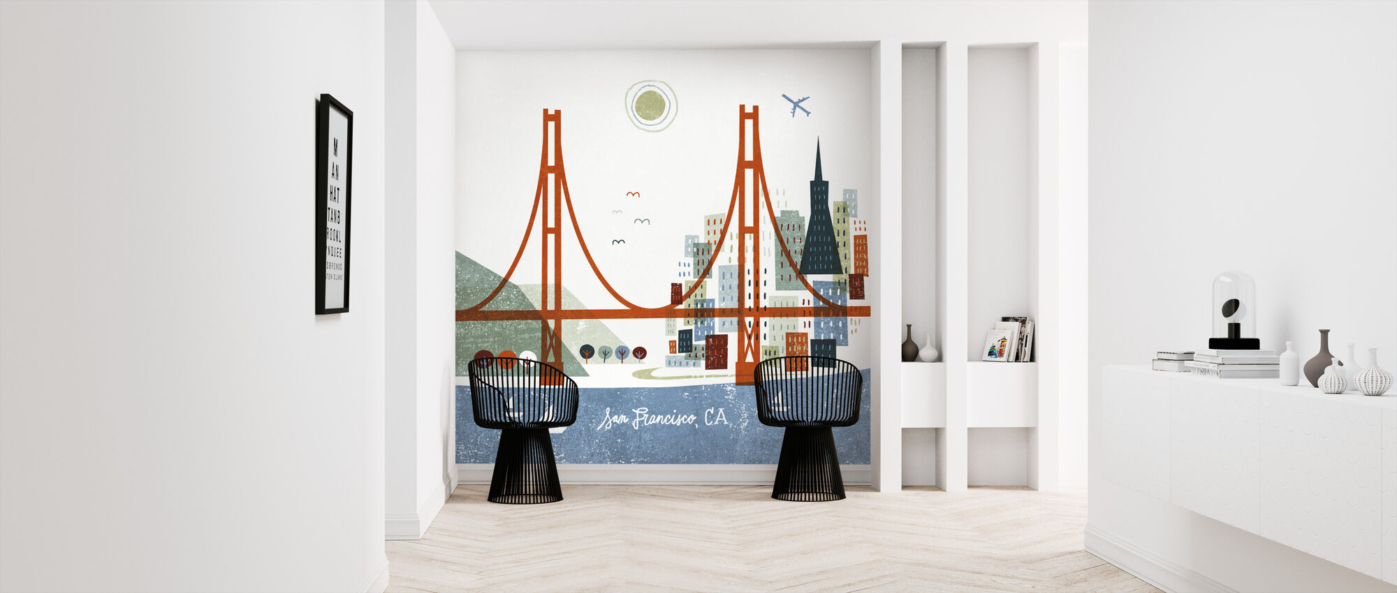 Colorful San Francisco - Wallpaper - Hallway