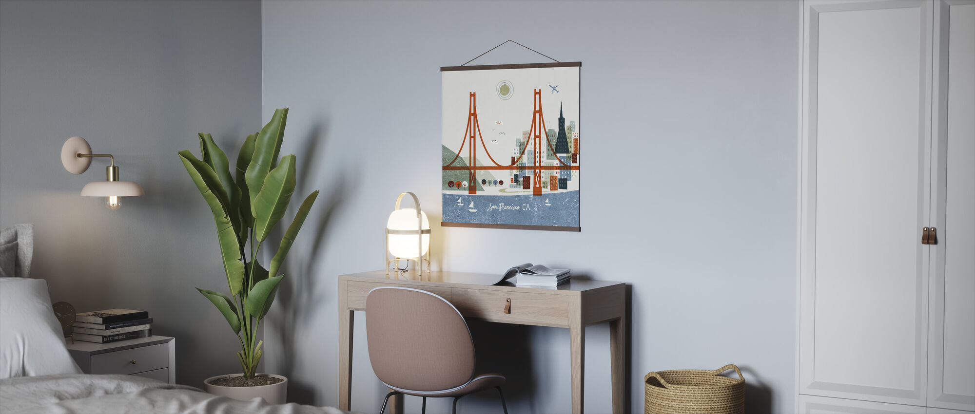 Colorful San Francisco - Poster - Office