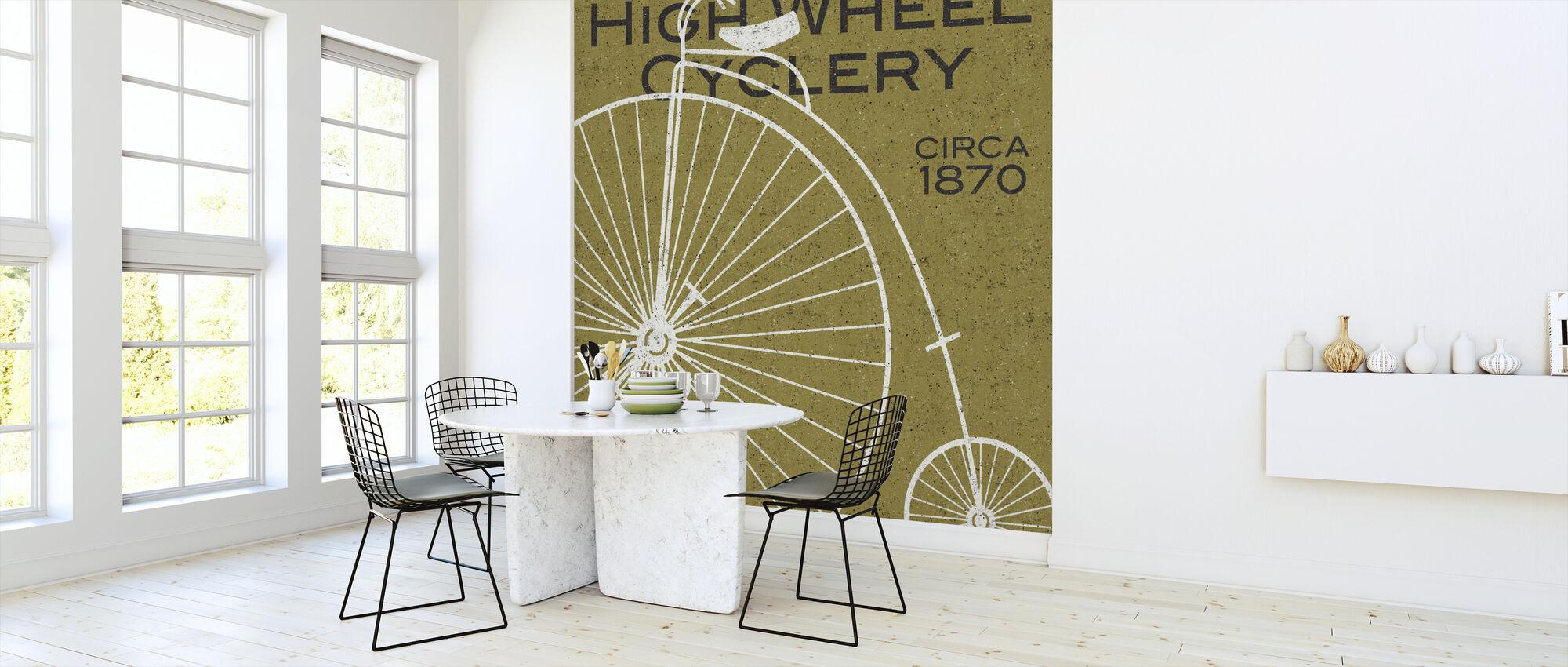 High Wheel Cyclery - Wallpaper - Kitchen