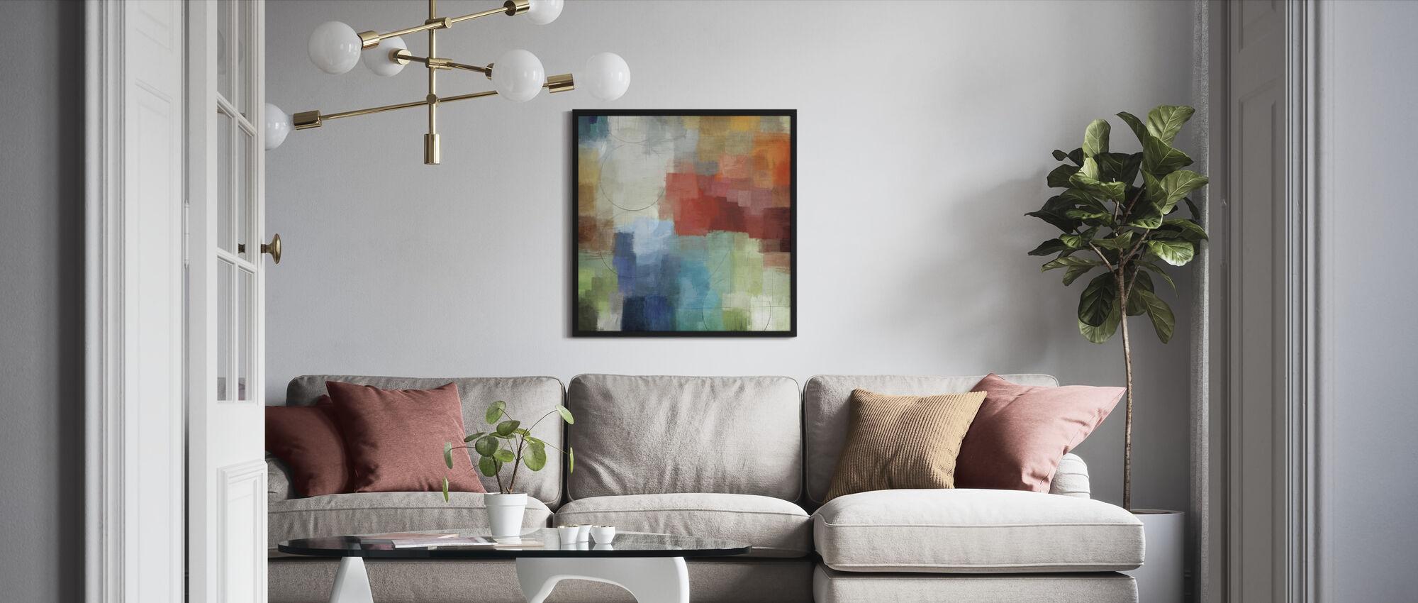Seasons - Framed print - Living Room