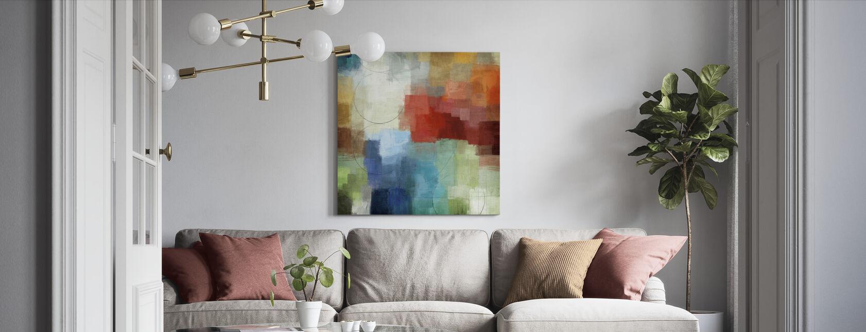 Seizoenen - Canvas print - Woonkamer