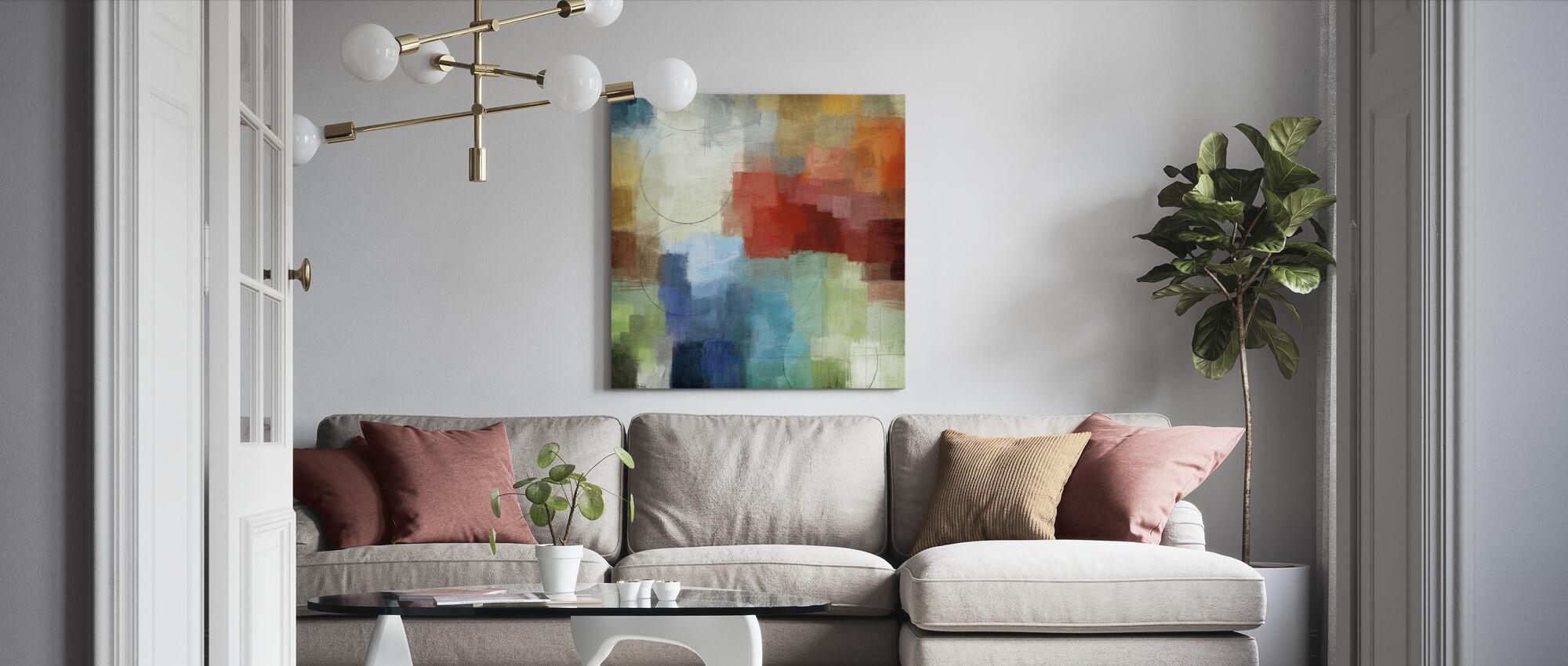 Jahreszeiten - Leinwandbild - Wohnzimmer
