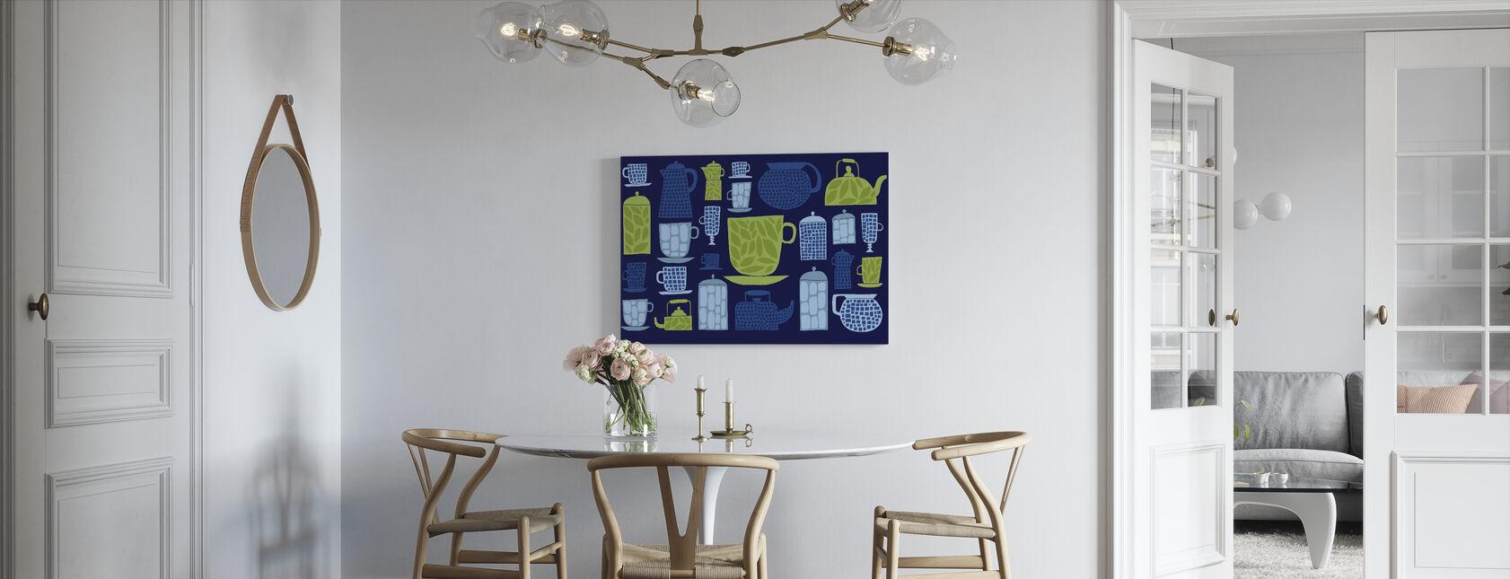 Retro Kitchen II - Canvas print - Kitchen