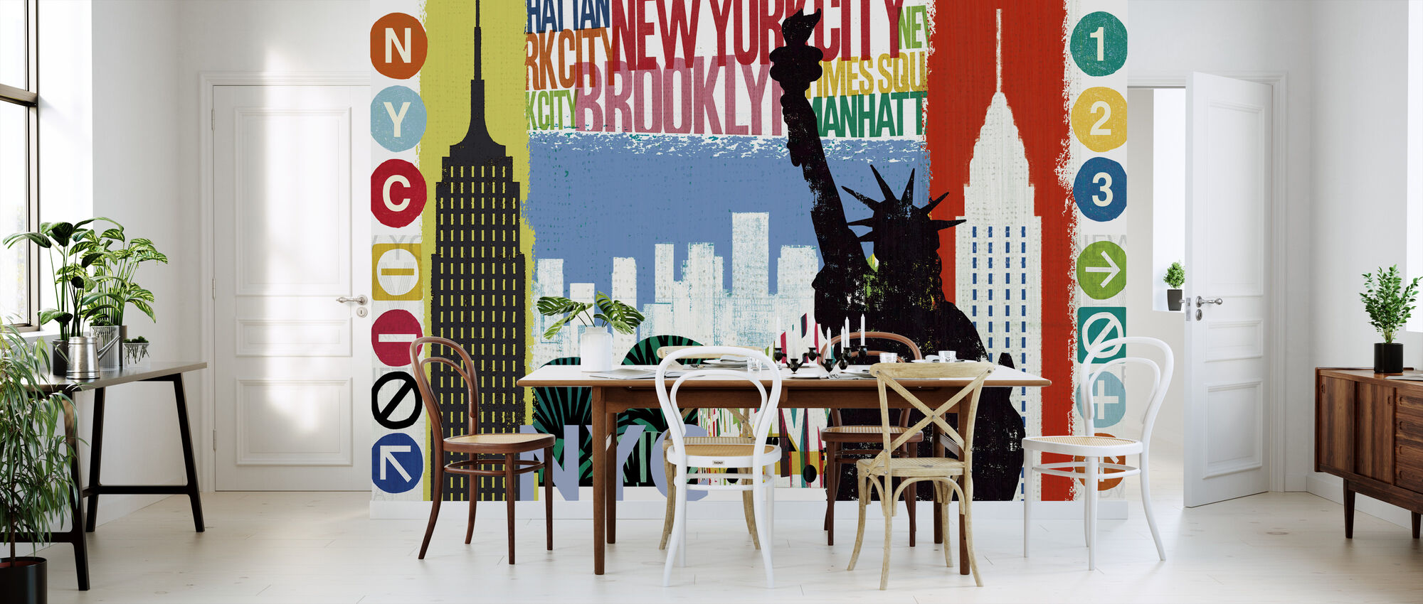 New York City Life I - Wallpaper - Kitchen