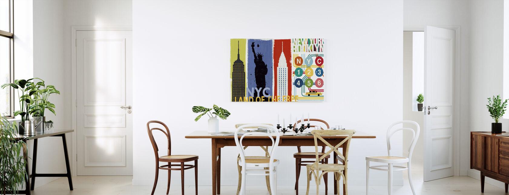 New York City Leven II - Canvas print - Keuken