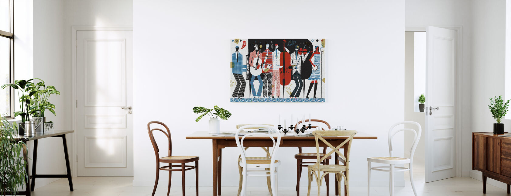 The Band - Canvas print - Kitchen