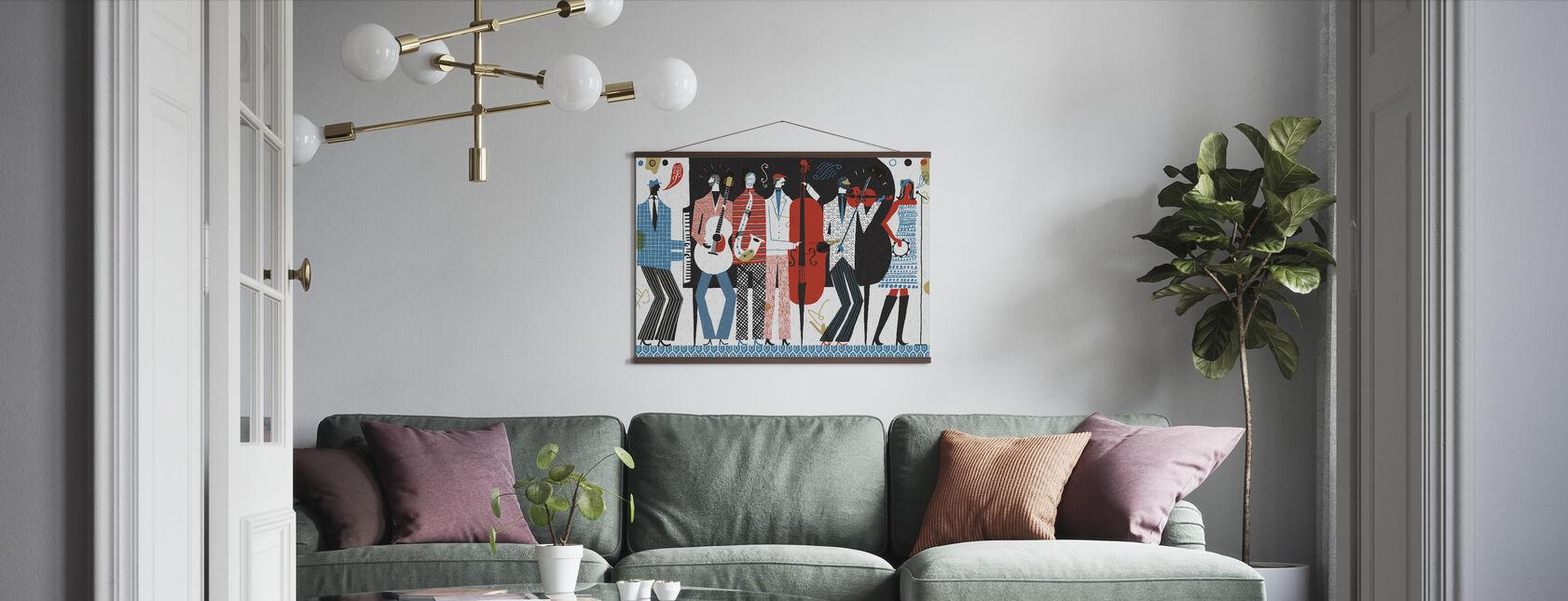 Bandet - Poster - Vardagsrum