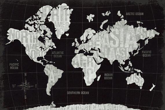 Maailmankartat Trendikkaat Valokuvatapetit Photowall