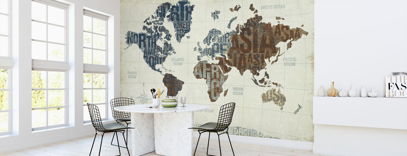 Moderni maailma neutraali - Tapetti - Keittiö