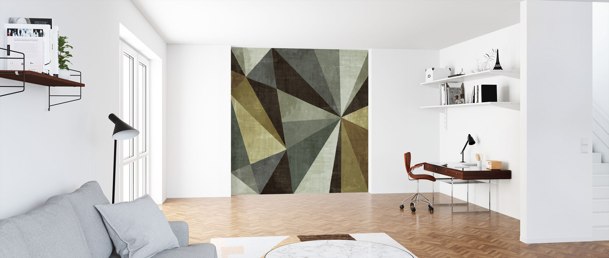 Triangulawesome - Wallpaper - Office