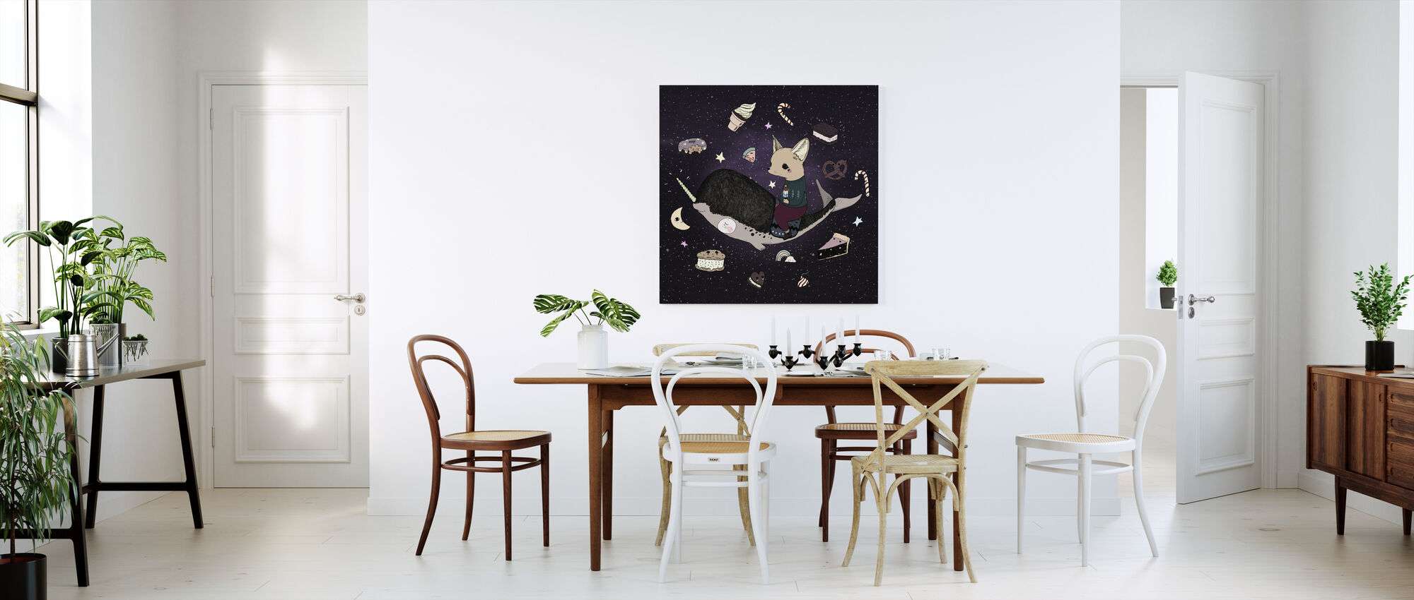 Candy Space - Canvas print - Kitchen