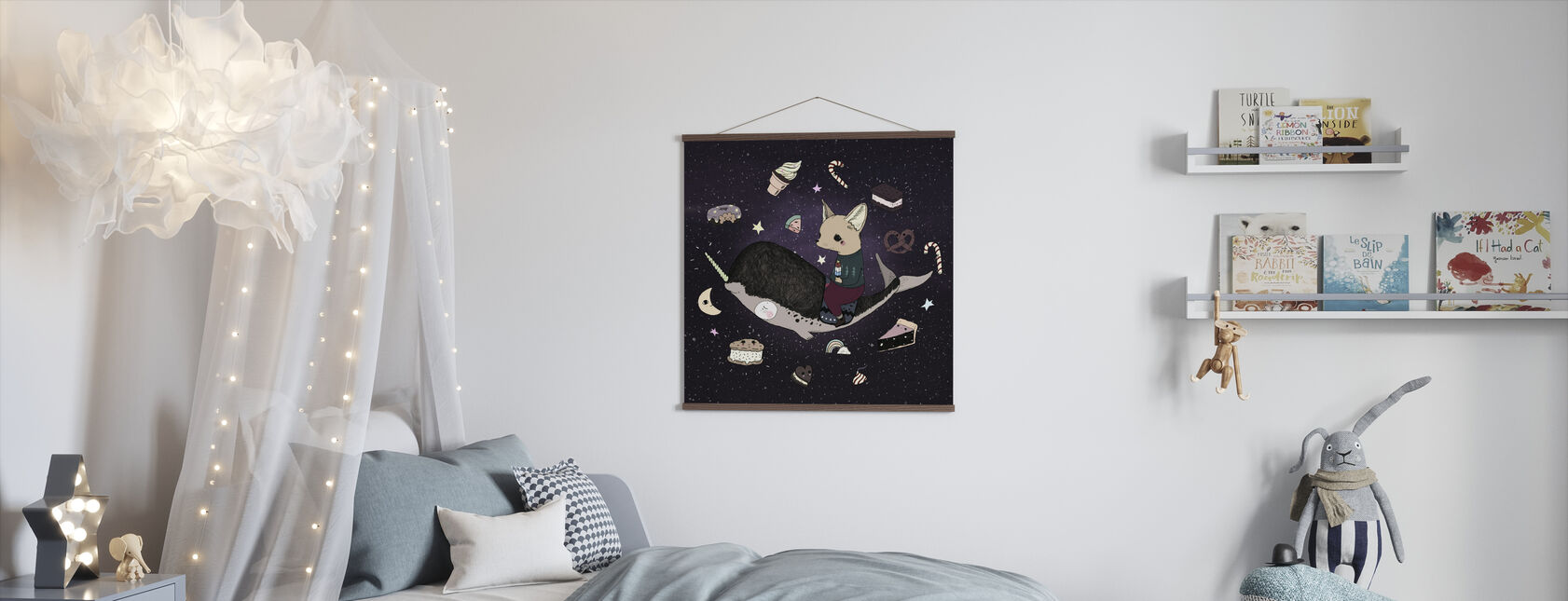 Candy Space - Poster - Kids Room