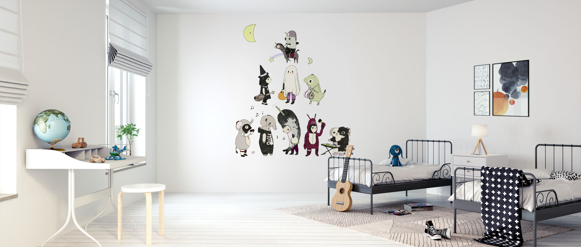 Costume Party - Wallpaper - Kids Room