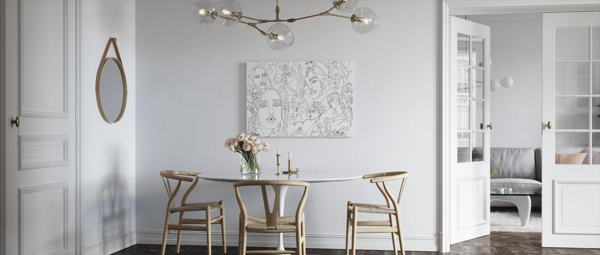 Escape - Canvas print - Kitchen